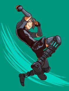 Mercury Black I love his robotic legs :D