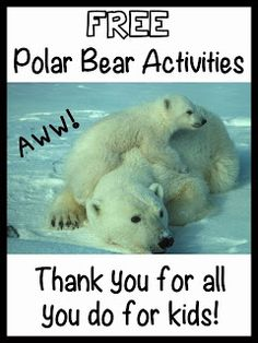 Promoting Success: Polar Bear Activities for the Classroom