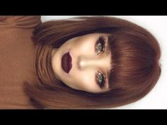 Cranberry Gold New Years Makeup Tutorial New Year's Makeup, Hair Makeup, Makeup Set, Eye Makeup, Winter Hairstyles, Bob Hairstyles, Hair Inspo, Hair Inspiration, Red Hair Color