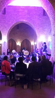 Castle, royal blue decor. A GHINOMAE event. Info@ghinomae.co.za