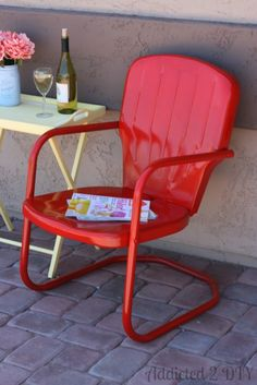 Hey everyone!  Today I'm going to share with you how I gave a new life to a rusty, forgotten old chair.  On Monday I shared 10 Inspiring Outdoor Ideas with you all.  One of those ideas was How to Paint Plastic Outdoor Chairs from Tiny Sidekick.  It inspired me to give some sprucing up to an old chair that [...]