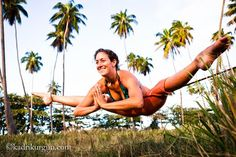 YogaSlackers  - Slacklining. oh my gosh.....how is that possible?