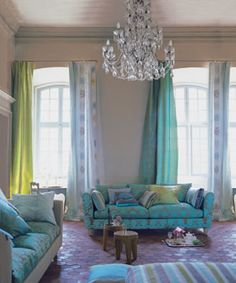 las cortinas en compose con el sillon