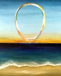 """Eterna presencia"" by Reyes Muñoz. Óleo sobre tabla #oil #painting #contemporaryart #fineart #metafisica #artecontemporaneo #enso 2017"
