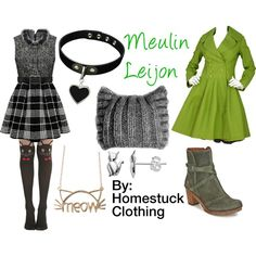 Meulin Leijon (Homestuck Clothing) by hermione625 on Polyvore featuring Alaïa, Art, Itsy Bitsy and KISS by Fiona Bennett