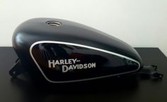 Gas Tank Harley Davidson Sportster airbrushed by umbeDesign