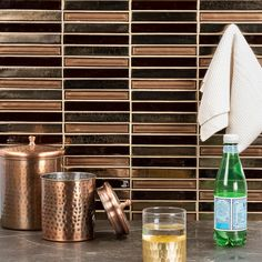 Our glass tile collection features stunning colors, sleek designs & unique shapes that will really make your room pop. Browse our glass tile flooring or glass wall tiles here. Cleaning Ceramic Tiles, Cleaning Tile Floors, Ceramic Wall Tiles, Glass Tile Backsplash, Glass Mosaic Tiles, Backsplash Ideas, Kitchen Backsplash, Art Deco Fireplace, Sanded Grout