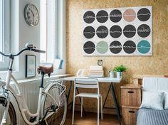 Życiowe kredo - nowoczesny obraz na płótnie - zdjęcie od VAKU-DSGN - Sypialnia - Styl Minimalistyczny - VAKU-DSGN