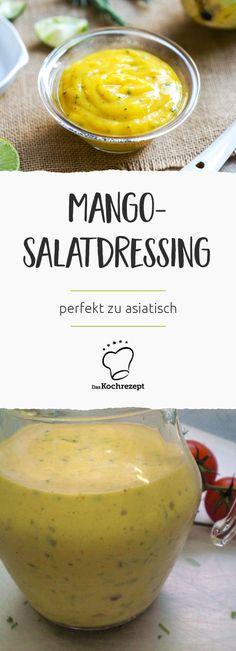 Mango-Salatdressing