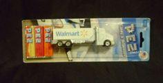 "PEZ ""WALMART"" Tractor Trailer Truck , Promotional Truck Series , Mint in Pack"