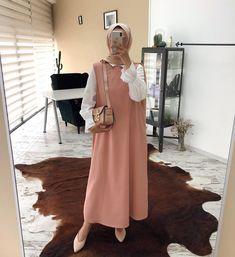 8+ Dress Outfits Modest Beautiful Modest Fashion Hijab, Modern Hijab Fashion, Hijab Fashion Inspiration, Abaya Fashion, Muslim Fashion, Mode Inspiration, Fashion Dresses, Modest Dresses, Modest Outfits