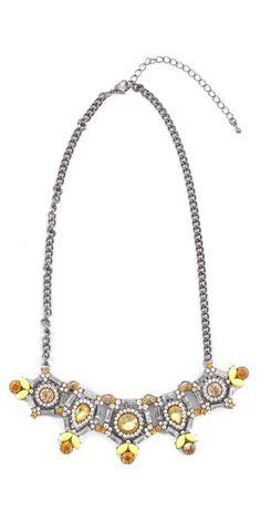 Sangria Embellished Necklace