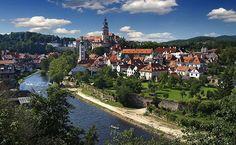 Культурная столица город Чешский Крумлов