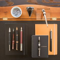 Take this down, you'll want to remember these pens. Thursday Things: Boardroom Boss features a robust assortment of power pens, perfect for the head honchos and big bosses in every office. Whether you're leading the pack or
