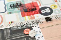 love this stamp!!  CUPPA Scrapbook Kit at @Studio_Calico