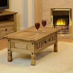 Mercers Furniture Corona Mexican Solid Pine Coffee Table | eBay