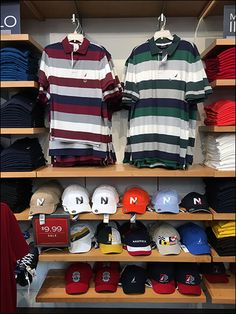 Do hats and caps, normally for top-of-head use, need to be marketed from a top-of-head position in-store? Here Nautica® violates that premise with below-the-waist and knee-level shelf positioning. ...