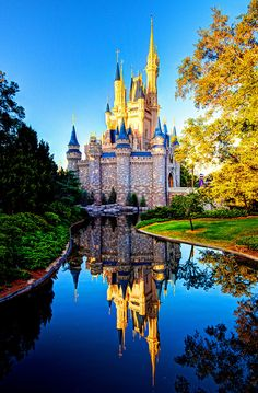 Cinderellas castle, Walt Disney World, Florida