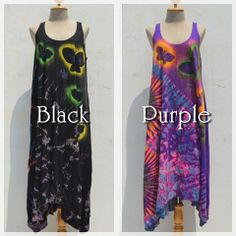 Dress is Rainbow butterfly -color black or purple- #naturaleeza #online #store