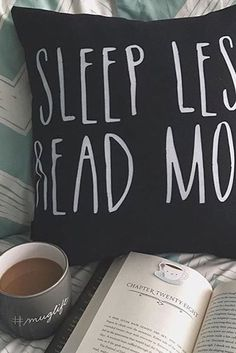 Psh, who needs sleep? Less of that, more chapters! We bet you'll love these bookish designs as much as you love reading—find this cute throw pillow from Redbubble, and get the same adorable design on mugs, tees, and more!