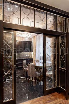 Дизайн интерьера однокомнатной квартиры в ГданьскеЖенские радости