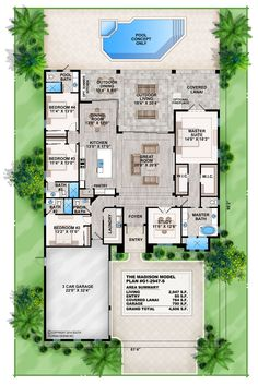 We Offer A Variety Of Beach Floor Plans. This Coastal Contemporary House  Plan Features A