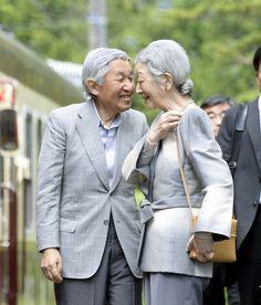De Keizer en Keizerin van Japan