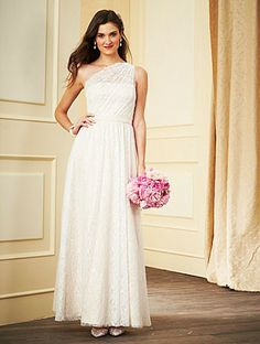 Alfred Angelo Bridesmaid Dresses - Style 7281L #alfredangelo #bridesmaiddresses #lacebridesmaids