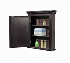 Crazy Price Last Day for Wooden Mirror Medicine Cabinet,Espresso - YOUR HOME NEEDS