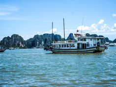 Halong Bay is a Unesco World Heritage Site a few hours out of Hanoi. Due to heavy traffic, getting there took me around 4 hours by car. The roads are a bit bumpy, but it's otherwise a nice ri…