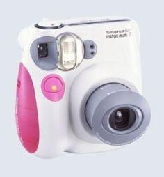 Fujifilm INSTAX MINI Film Camera (Pink Trim