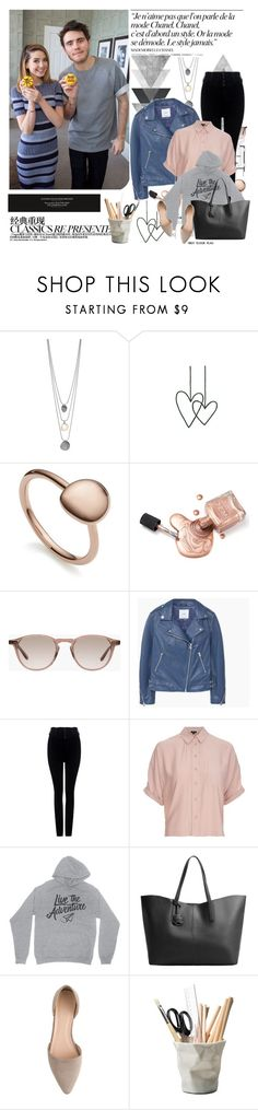 """Zalfie ♥"" by mars ❤ liked on Polyvore featuring Chanel, Monica Vinader, Hampton Sun, MANGO, Citizens of Humanity, Topshop, J.Crew and ESSEY"
