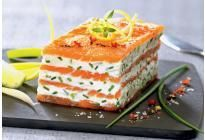 Our recipe ideas Mille feuille of smoked salmon with lemon mascarpone Fish Recipes, Seafood Recipes, Cooking Recipes, Salmon Recipes, Tapas, Fingerfood Party, Appetisers, Fish Dishes, Finger Foods