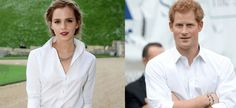"""""""This is not a joke: Prince Harry .&. Emma Watson are apparently Dating"""" [.will keep an EYE on This !!!.]"""