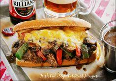 Irish Pub-Style Pot Roast Hoagies with Pot O'Gravy - Wildflour's Cottage Kitchen