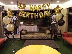 52 Happy Birthday Foil & Helium Balloons Bouquet. Helium Gas, Helium Balloons, Balloon Bouquet, Happy Birthday, Happy Brithday, Urari La Multi Ani, Happy Birthday Funny, Happy Birth