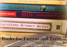 Books for tweens and teens...