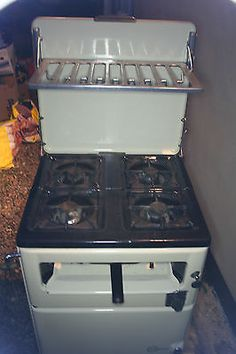 Fabulous Vintage 1940's New World Radiation Gas cooker with oven and grill | eBay