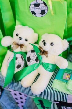 Clarkie's Soccer Themed Party – Giveaways Party Themes, Party Ideas, Party Giveaways, Football Themes, Soccer, Birthday, Party Gifts, Futbol, Birthdays