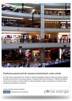 Paulistano possui nivel de consumo instável, revela estudo