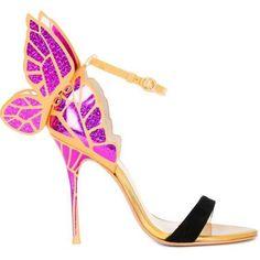 Evangeline Glitter Angel Wing Sandals Sexy Laser Cut Metallic Gladiator Sandals High Heels Butterfly Wedding Shoes Woman Pumps