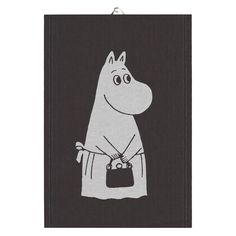 Big Moominmamma kitchen towel 35x50 cm from Ekelund Linneväveri - NordicNest.com Tove Jansson, Moomin, Family Traditions, A Comics, Cool Patterns, Kitchen Towels, Tea Towels, Tumblers, Boxer