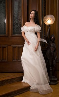 Trending One of my favorite ethereal bridal gowns from Sarah Houston Couture Reminds me of a
