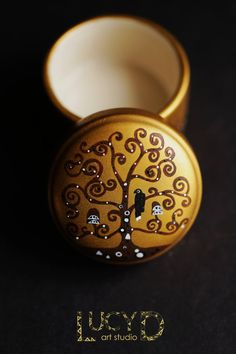 Klimt Jewelry Box by LucydARTstudio on Etsy