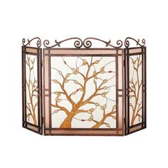 Fireplace Screen 1 - Maid on the Moon Studio | stained glass ...