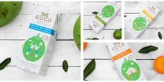 Coco Fruit on Packaging of the World - Creative Package Design Gallery
