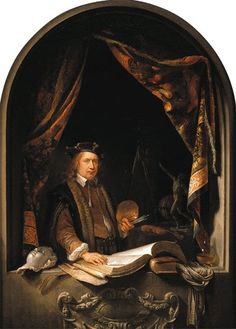 Gerrit (Gerard) Dou (1613-1675) First Pupil of Rembrandt ~ Blog of an Art Admirer