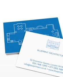 Business Card design 'Floor Plan'