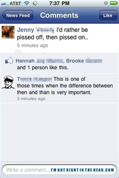 Grammar nerd humor!  ;-)