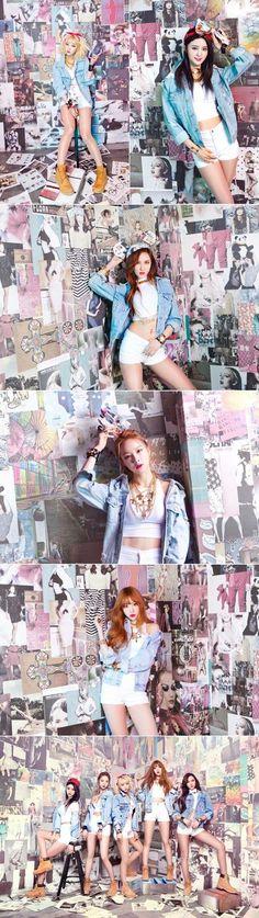 Enjoy Korea with Hui: EXID's 'Ah Yeah' Music Video, Lyrics, and Photos